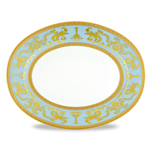 Couronne Imperiale Plat Ovale