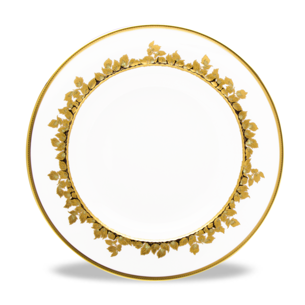 Feuille d'Or Plat Rond