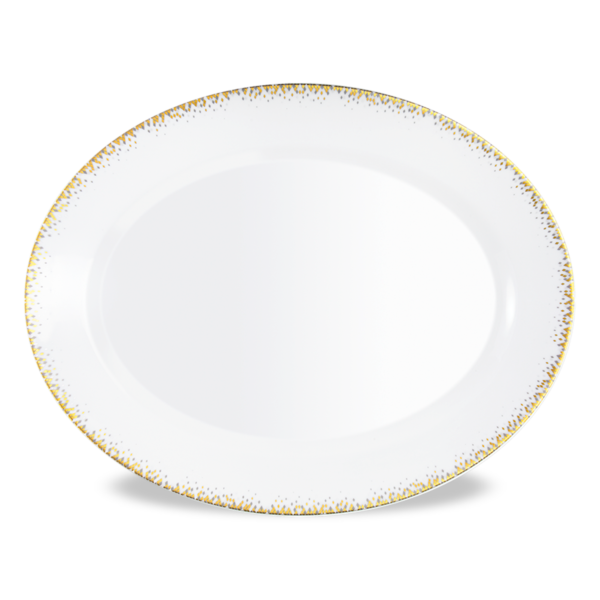 Souffle d'Or Oval Dish